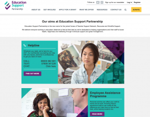 Education Support Partnership Website